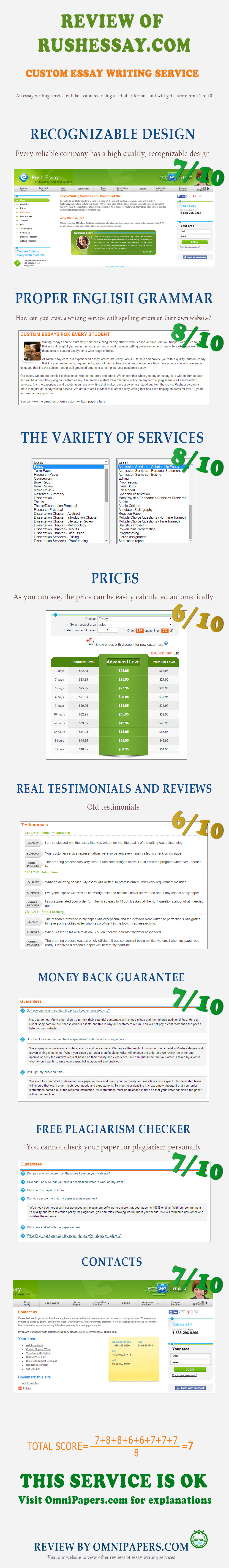 rushessay com review score 7 10 true sample available rushessay com review