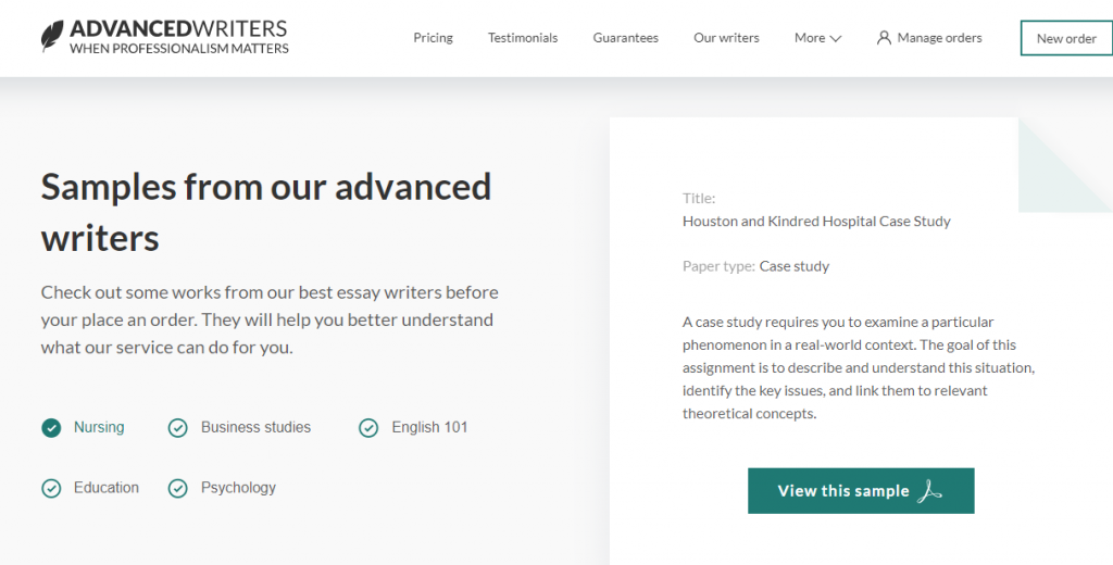 advancedwriters.com legit