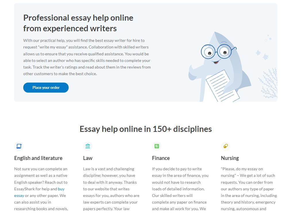 essayshark writers