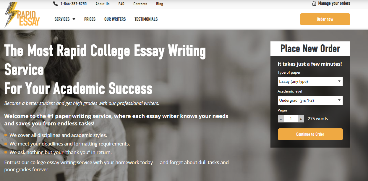 rapid essay review