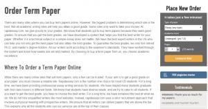 rapidessay term paper