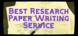 Research paper writing service review