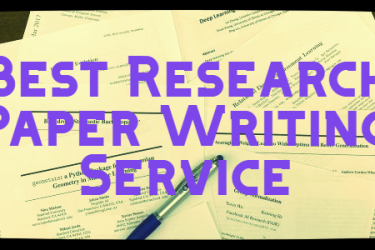 what is the best research paper writing service?