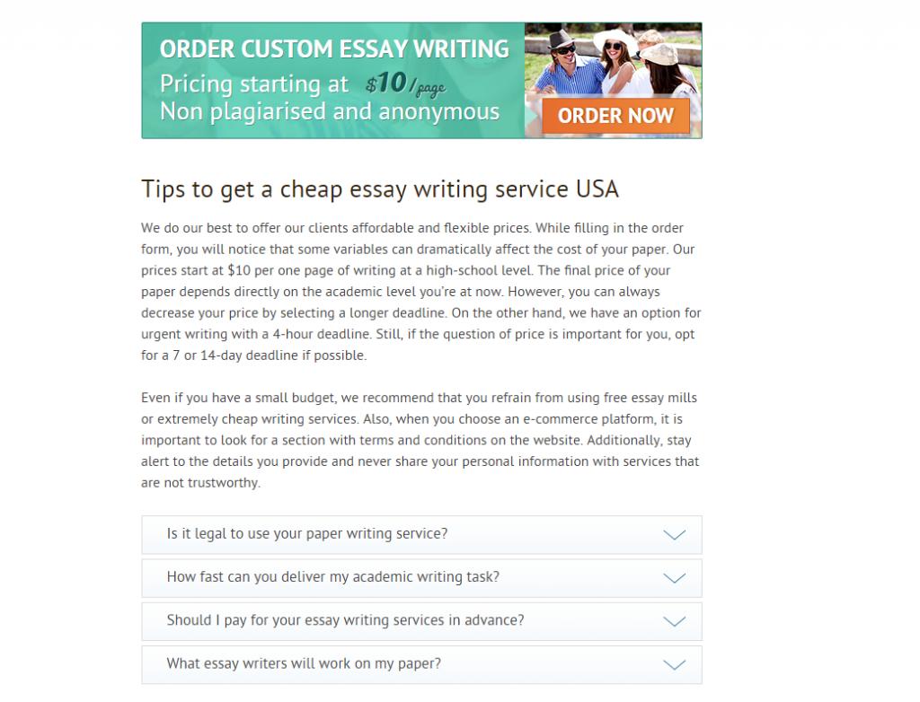 easy essay writers
