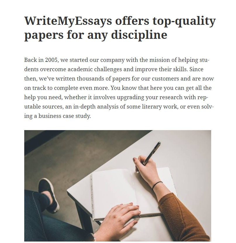 writemyessays review